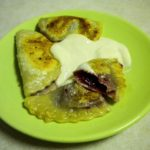 Mixed berry pierogi - delicious!!!