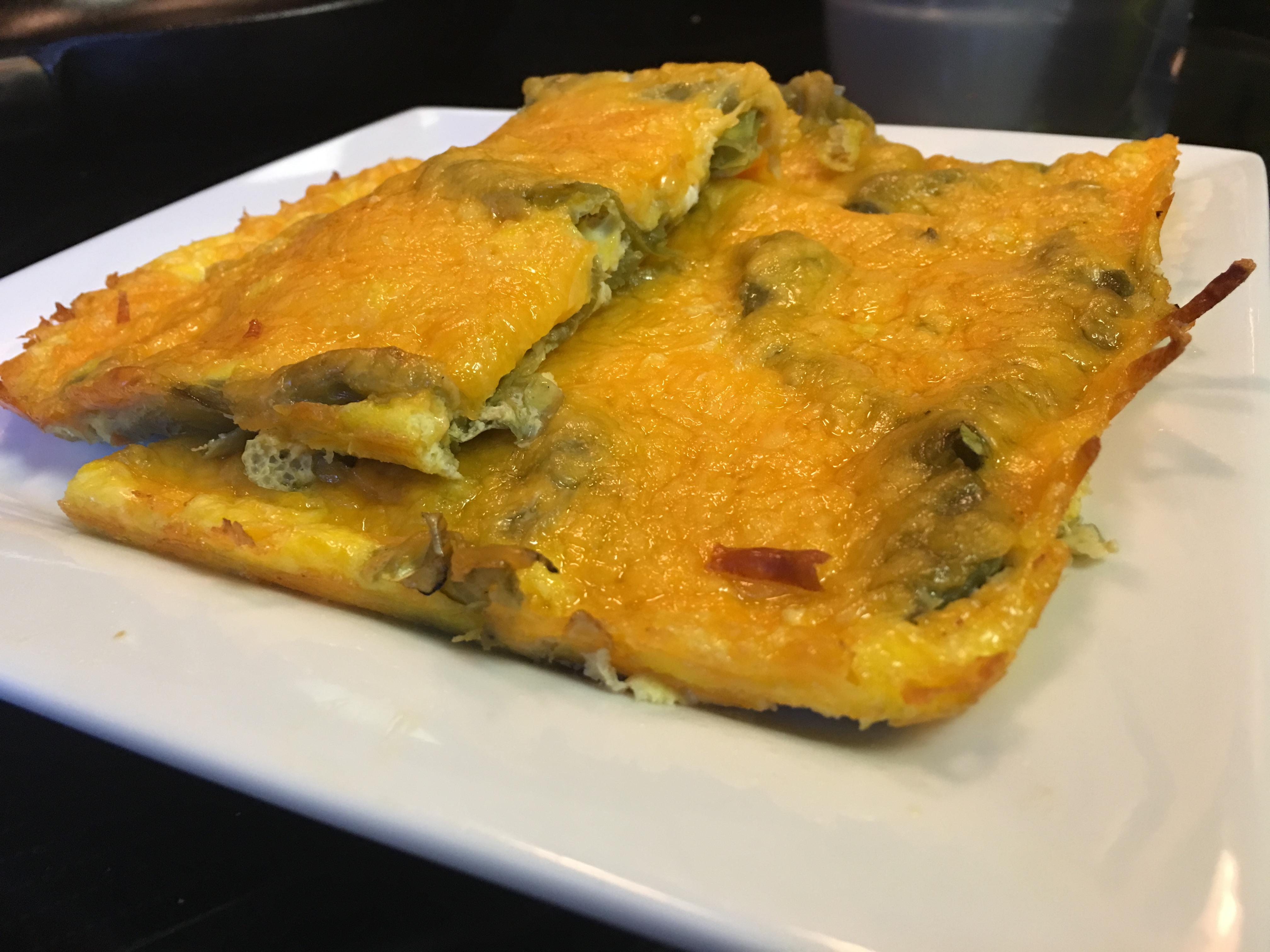 Green chile eggs