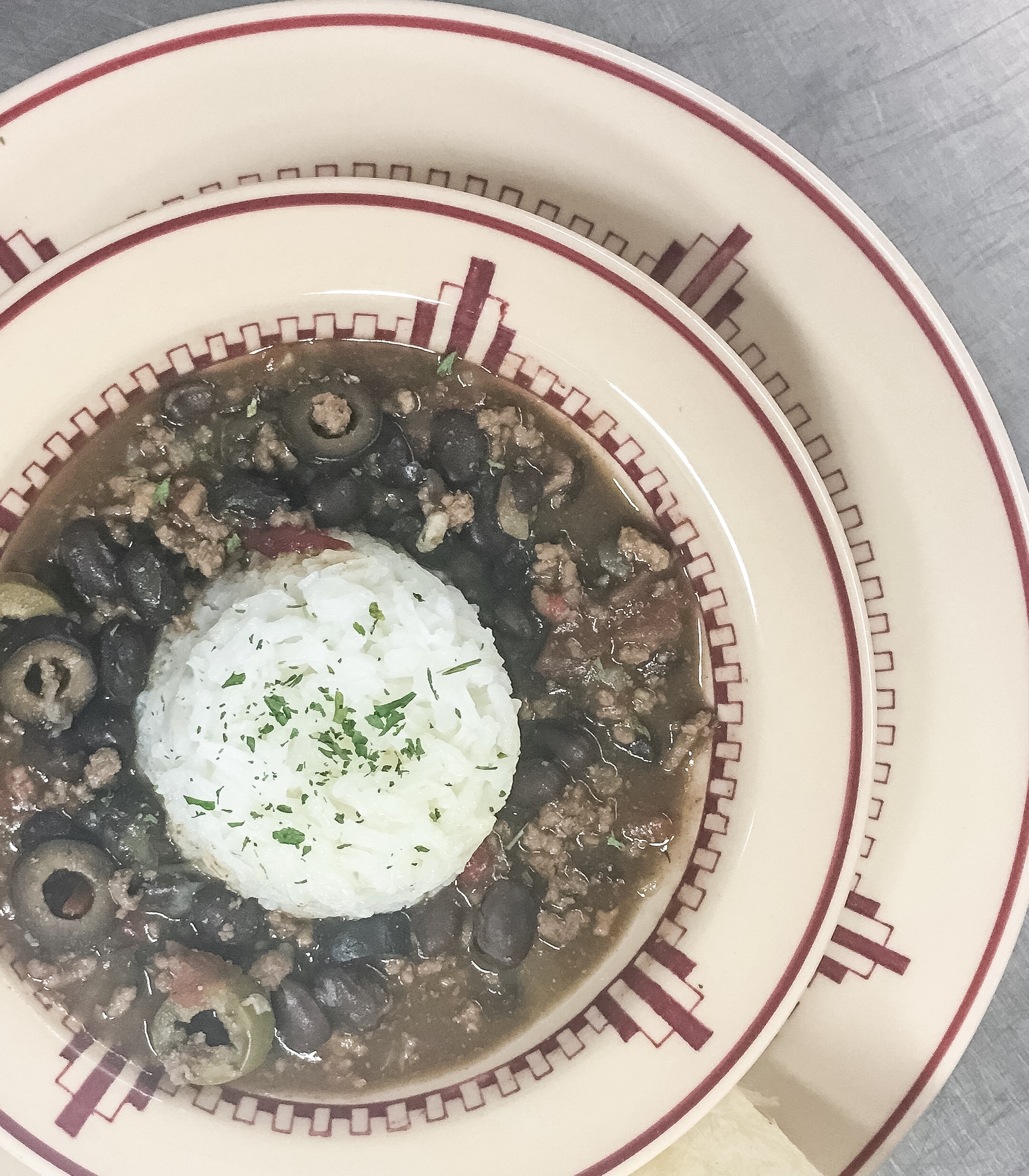 Cuban Piccadillo with Black Beans