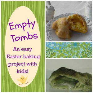 empty tombs Easter baking