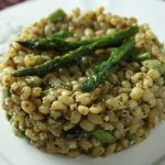 Wheat Berry Pesto Salad