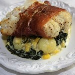 Prosciutto Wrapped Halibut