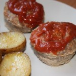 Turkey Meatloaf with Sauce