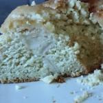 Swedish Pear and Almond Cream Cake