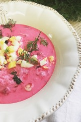 Chlodnik, Poland's cool, creamy beer soup for summer!
