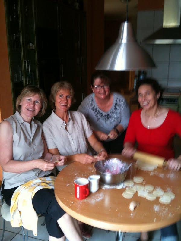pierogi ruskie making