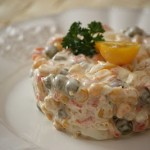 Salatka Warzywna (Vegetable Salad)