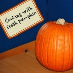 Roasted Pumpkin (cooking with fresh pumpkin not canned)