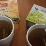 Fenchel Anis Kümmel Tee (Fennel, Anise, Caraway Tea)