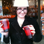 Bubble Tea, Quickly Restaurant, Alameda, California
