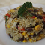 Southwest Vegetarian Quinoa Salad