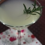 Rosemary (Vodka) Gimlet