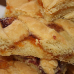 Make Ahead Apricot Squares (with vegan substitutions)