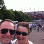 Ed and me (in Warsaw to see Paul McCartney)