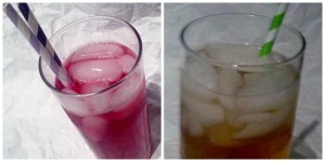 flavored vodkas collage