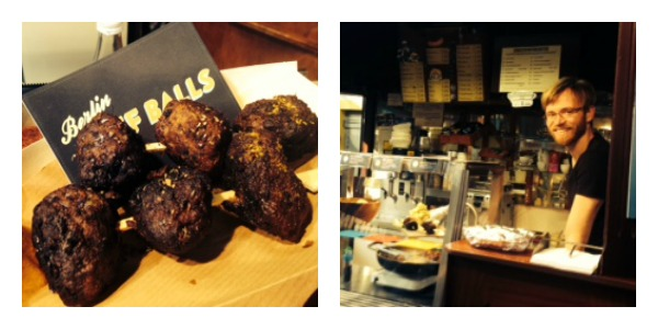 beef balls Collage
