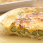 Asparagus Tart with Sage Crust