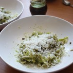 Zucchini Pesto Salad