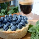 Blueberry White Chocolate Tart