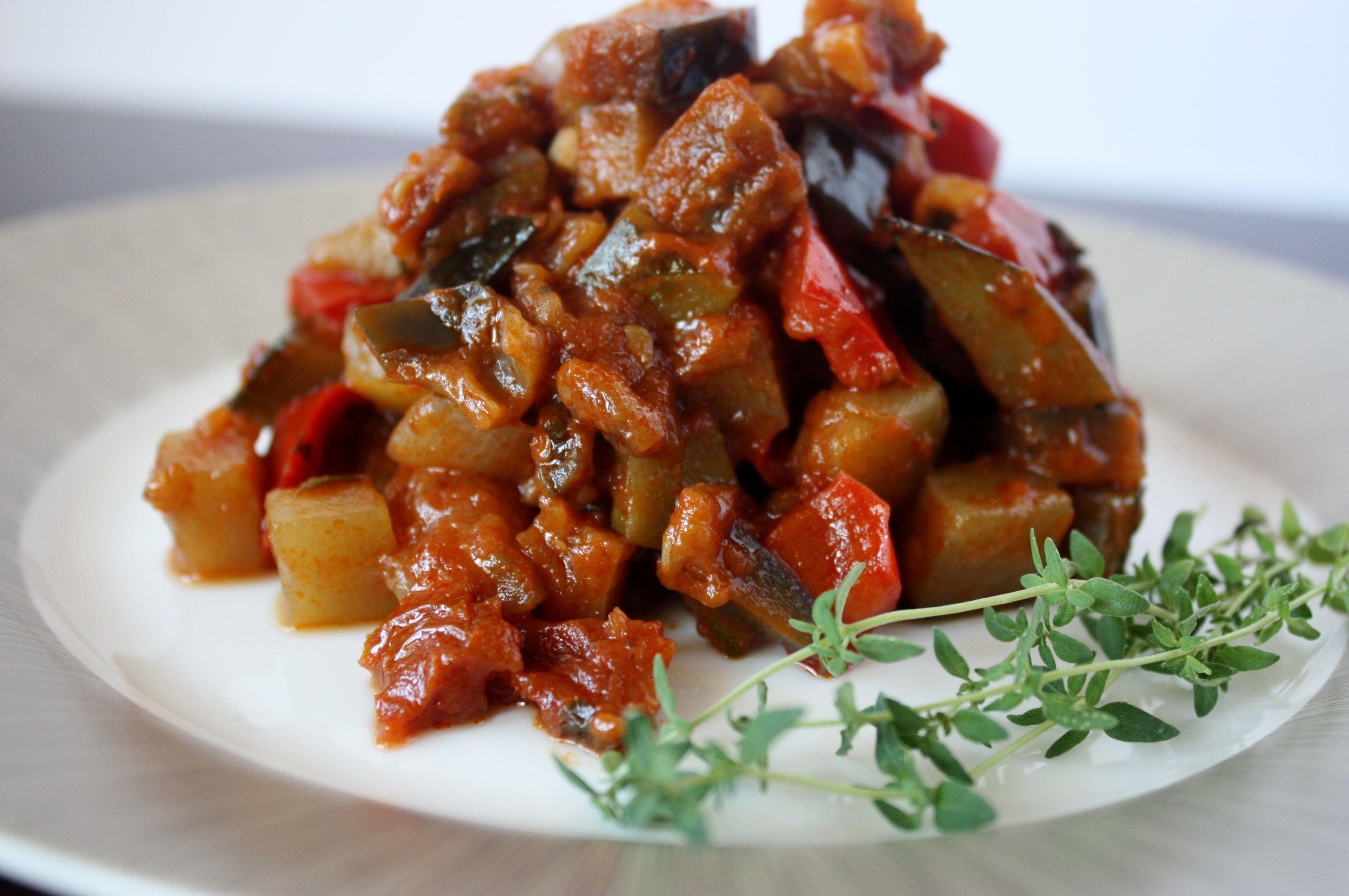 ratatouille   french veg   polish housewife