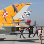 Polish F-16 Base, an Open House