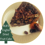 English Dried Fruit Cake