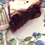 Black and Blueberry Pie