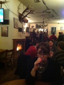 interior of puc serving craft beer in Poznan