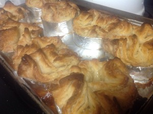kouign amann fresh from the oven