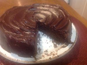 chocolate pavarotti with wicked good ganache