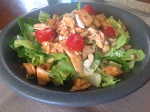 chicken chili lime salad