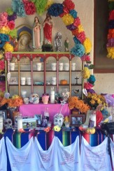 Day of the dead ofrenda