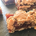 Simple, wholesome date Bars, Matrimonial cake in Canada