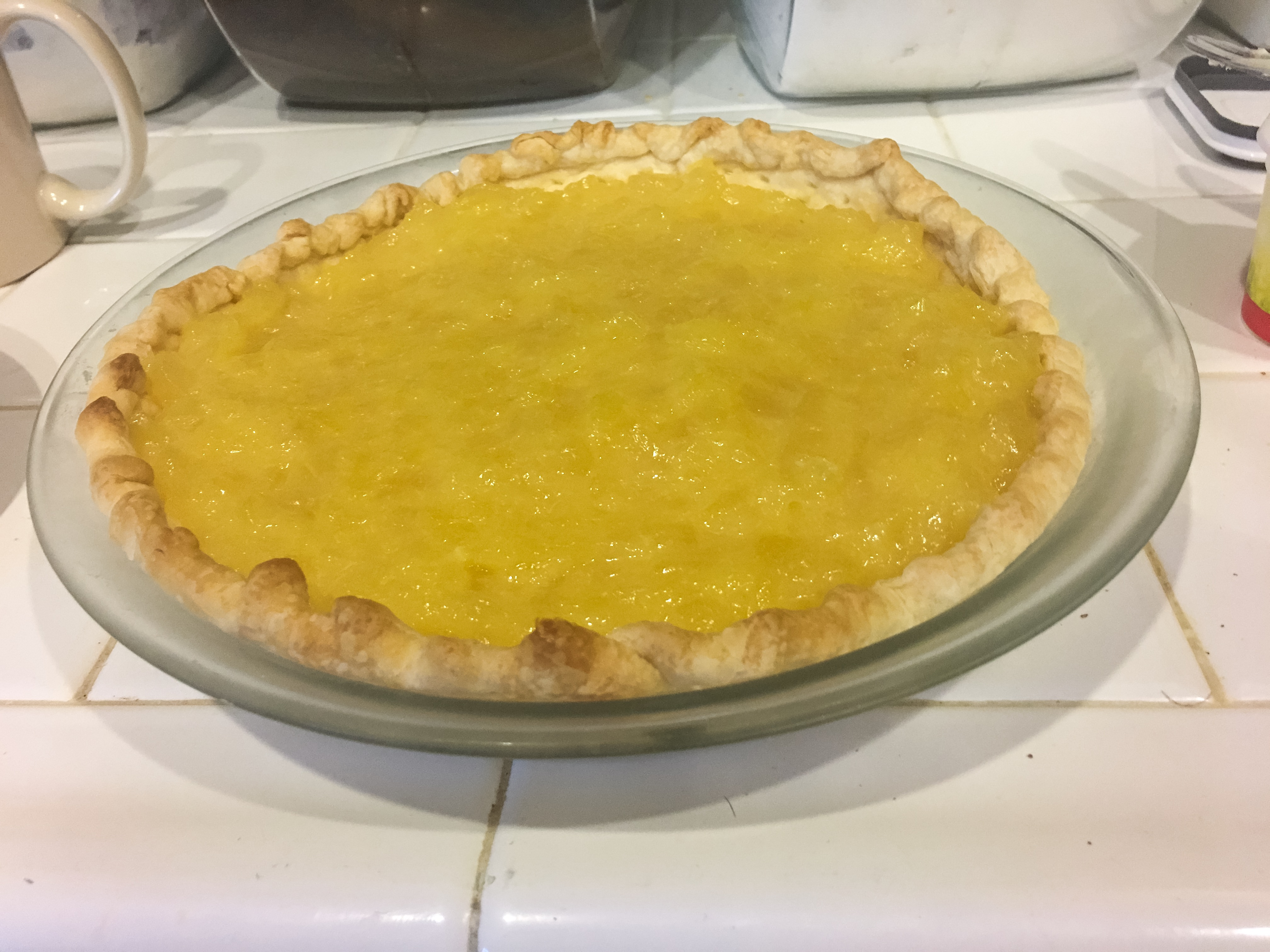 Vintage pineapple pie recipe
