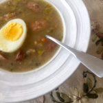 Żurek (a Polish Rye Soup)
