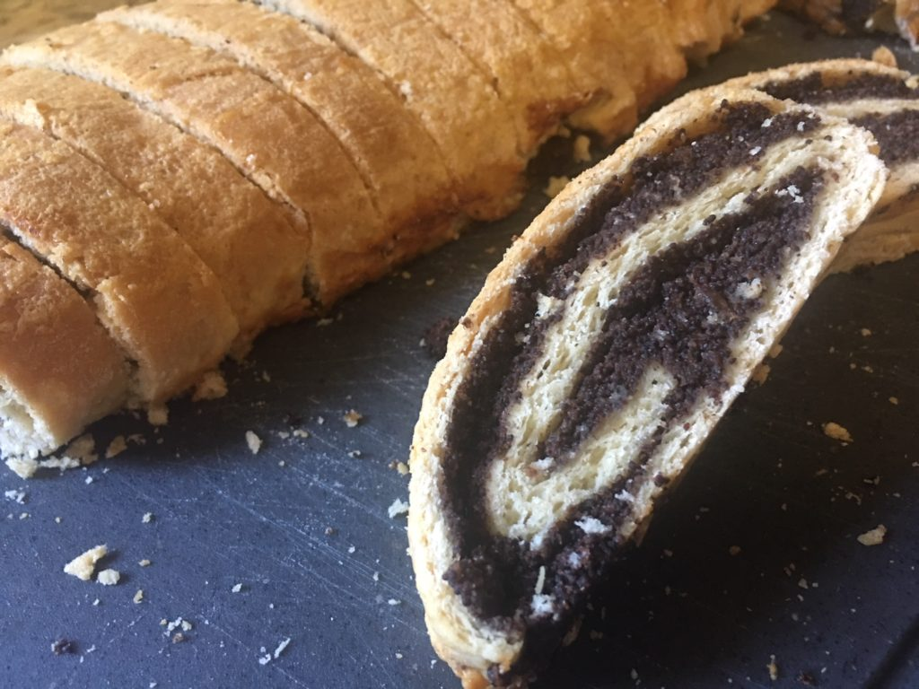 Makowiec Polish Poppy Seed Roll a must have dessert for Christmas or Easter pastry