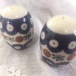 Polish Pottery Salt & Pepper Shaker Giveaway