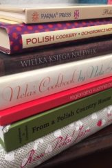writing a post about Polish Cookbooks, most of my collection