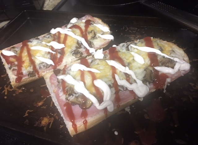 Zapiekanka Polish French Bread Pizza