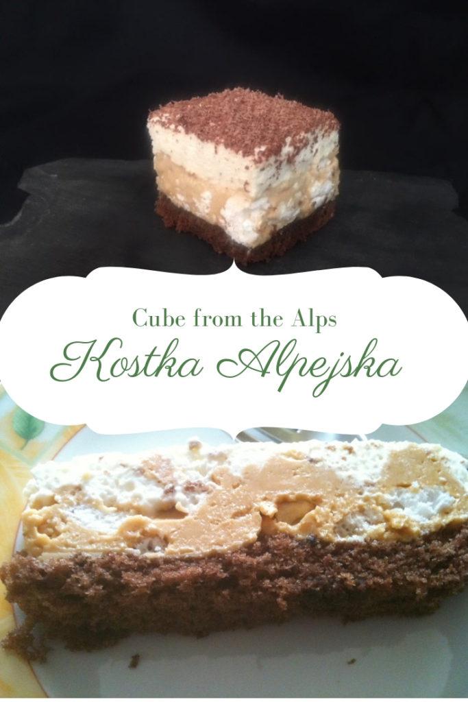 Polish Alpine Brick chocolate cake