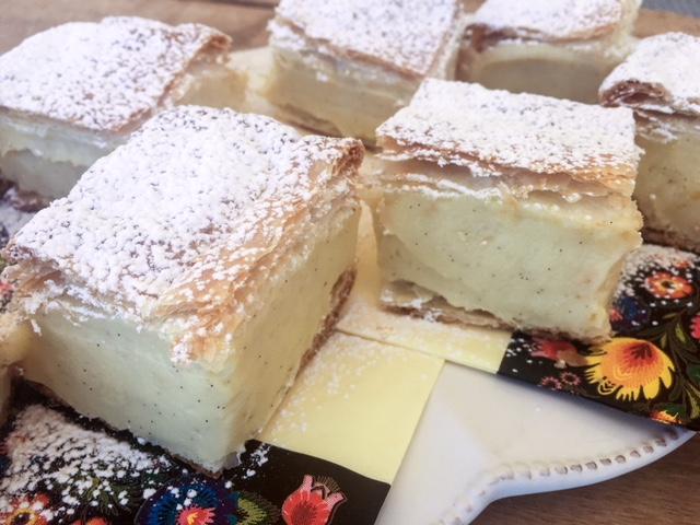 Kremówka Papieska or Papal Cream Cake