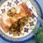 Kulebiak z Kapusta i Grzybami (Cabbage & Mushroom Pie)