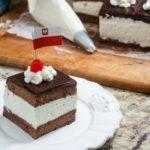 Wuzetka – WZ Ciasto – Polish Chocolate Cream Cake