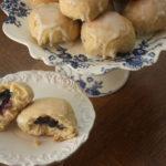 Polish Yeast Buns with Blueberries (Jagodzianki)