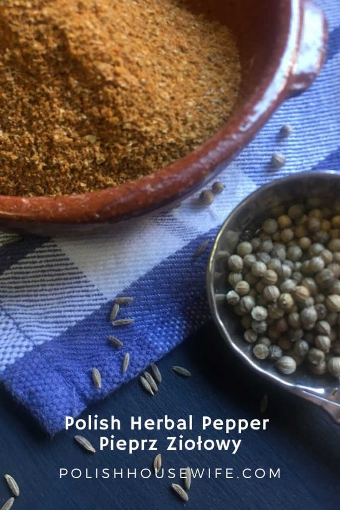 ground spices and seeds in a measuring spoon