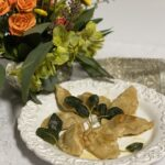 pumpkin and sausage pierogi
