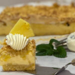 Polish pineapple cheesecake