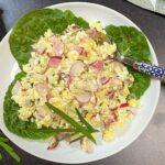 Polish radish salad