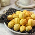 Polish walnut cookies Orzeszki