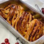 cranberry orange babka
